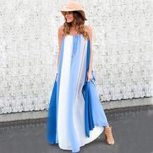 Casual Vintage Women Sleeveless Boho Beach Dress