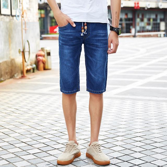 7fed017b8 2018 Men Short Jeans Men's Fashion Shorts Men Summer Clothes Fashion Brand Male  Short Pants Mens Denim Shorts Plus Size 28-46 48