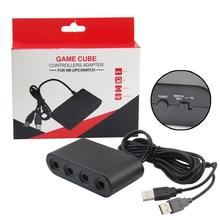 XBERSTAR 4 порта для NAND GameCube контроллер GameCube для wii U PC коммутатор адаптер USB контроллер, адаптер, конвертер адаптеры