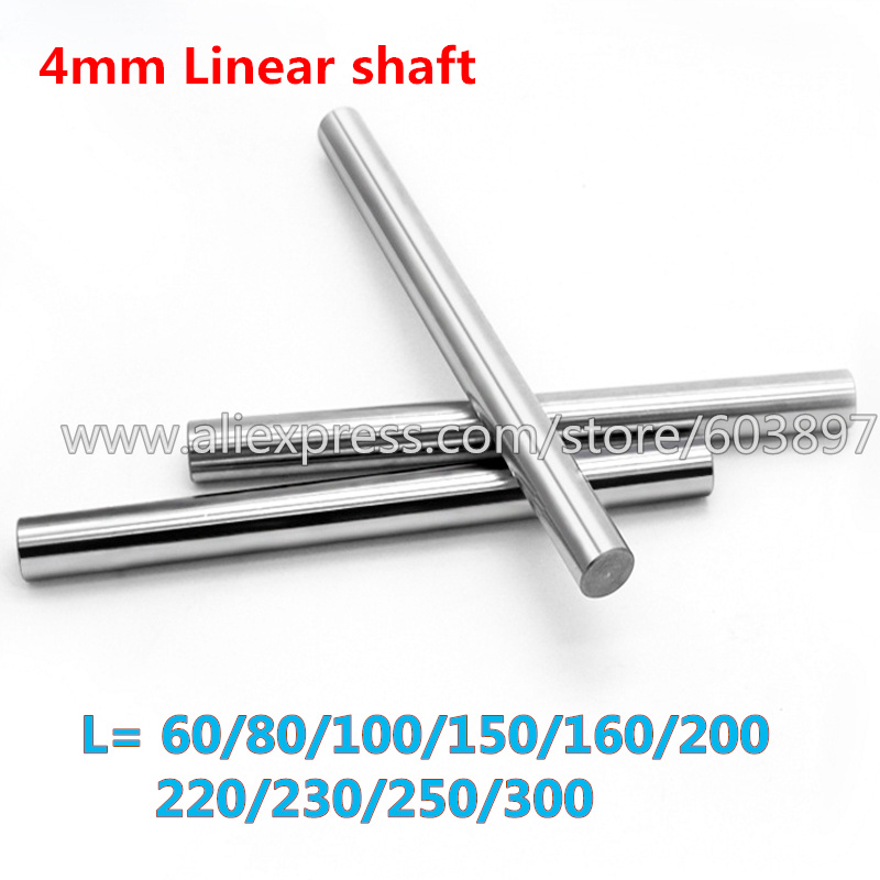 "4mm Shaft 40mm 1.6/"" Hardened Rod"