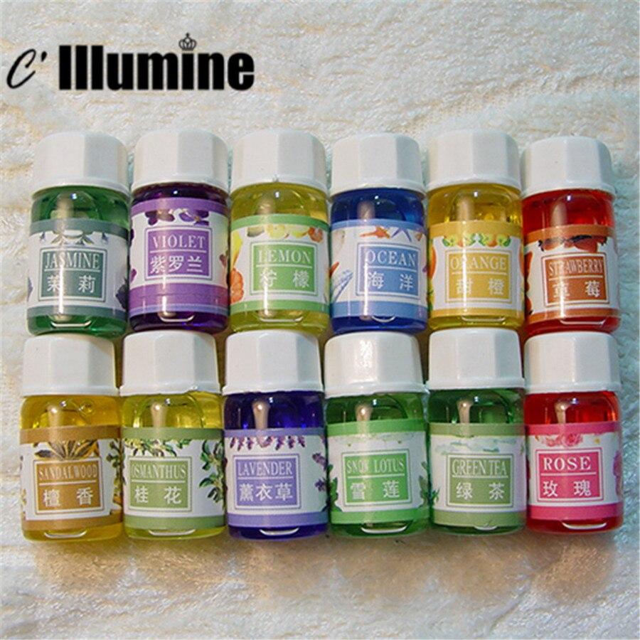 3mlx6 Ruční mýdlovou základnu Parfém Pachový zápach Essencialový olej Ruční dodávky 6 chutí