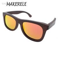 Milieu Sport Driver Vissen bamboe hout zonnebril mannen gepolariseerde kopen bril online van makerele china Luxe Merk