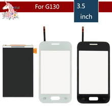 3.5 For Samsung DUOS Young 2 Duos G130H G130 LCD Display With Touch Screen Digitizer Sensor Replacement l spohr 2 concertant duos for 2 violins op 9