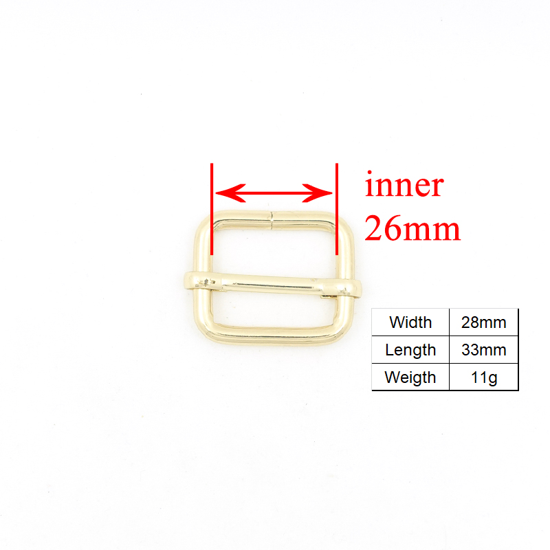 metal buckle adjust buckle D ring metal dog clasp set DIY dog collar 25mm webbing accessory Zinc Alloy durable Swivel Clasp in Buckles Hooks from Home Garden