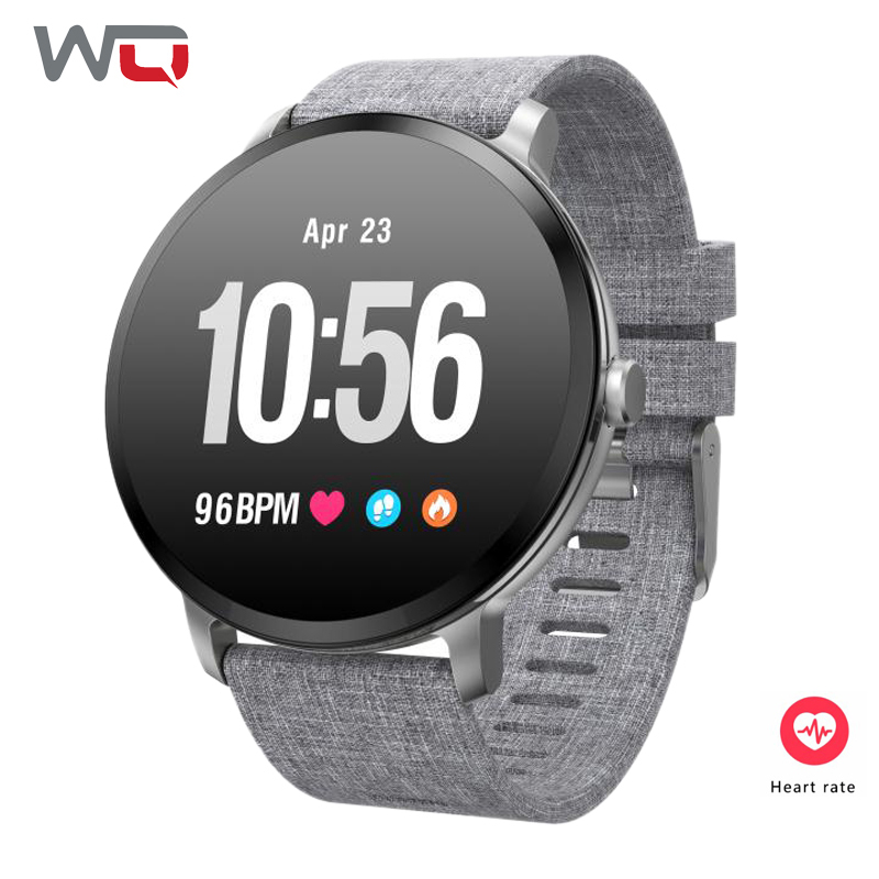 Buy WQ V11 Women Smart Band With Breathing light Heart Rate Monitor Fitness Tracker Smart Band Sleep Monitor Lady Smart Watch for only 38.99 USD