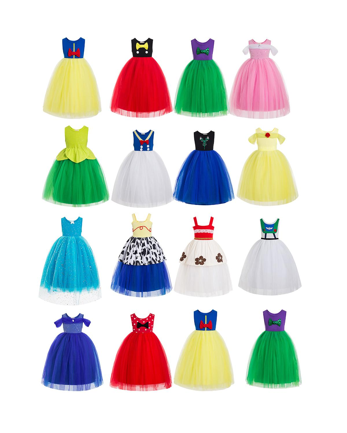bell Ruffle Top Birthday Outfit Outfit Birthday Outfit Outfit  birthday tutu dress Flower Girls' Dresses kids clothes girls dres 5