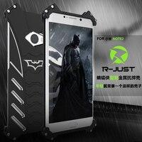 R Just Batman Case For Xiaomi Note 2 Metal Aluminum With Bevel Edge Fundas Coque Capinhas
