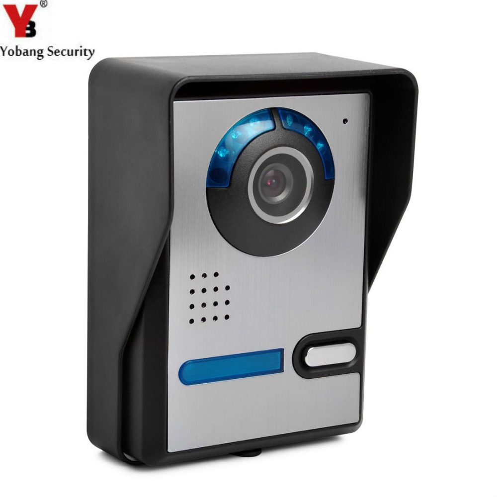 Yobang Security Outdoor Unit Intercom For Door Camera For Video Door Phone Entrance Machine Only With Outdoor Unit