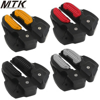 MTKRACING Motorcycle Accessories for vespa 125 150 Sprint 125 150 3vie Extended extended foot adapter