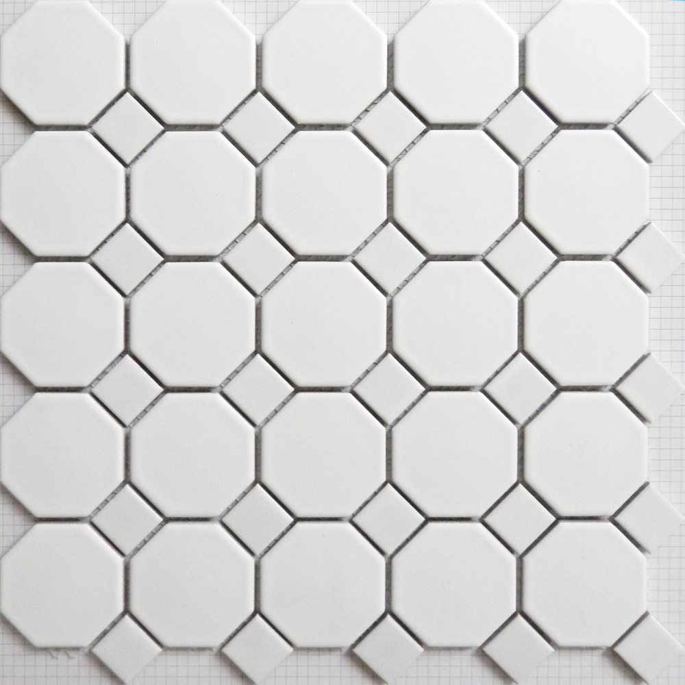 Bathroom flooring Ceramic mosaics tiles white kitchen backsplash ...