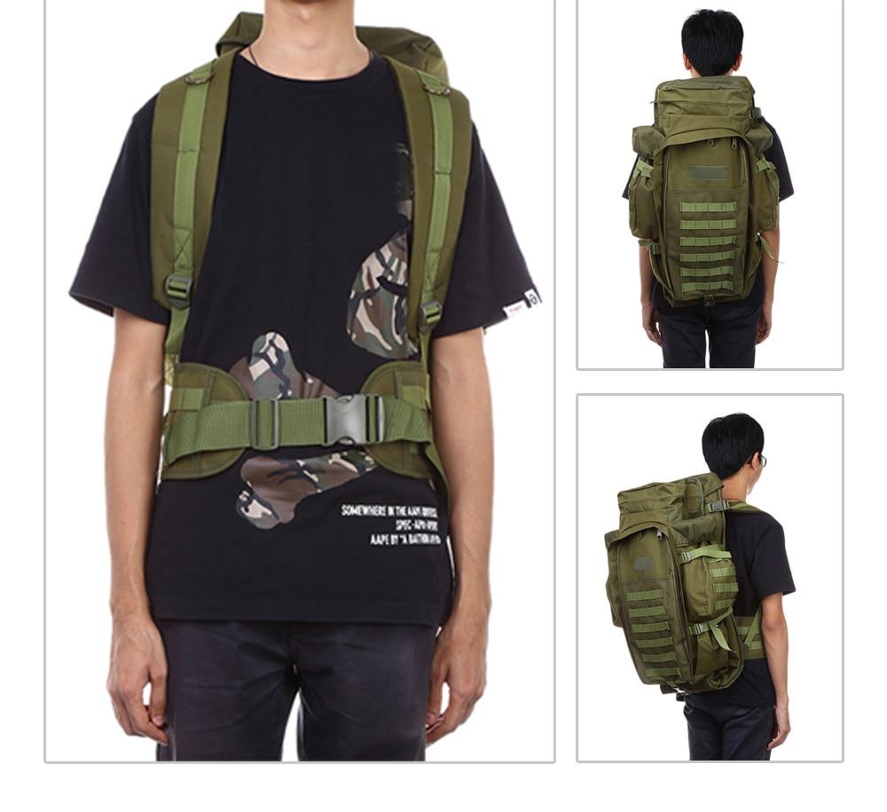 60L Outdoor Backpack Pack Rucksack for Hunting Shooting Camping Trekking Hiking Traveling Backpacks Waterproof Bags (19)