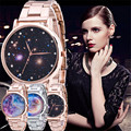 Retro Design Alloy Unisex watch Women Men Wristwatch Starry Sky Space Watch Little Star Wristwatch Special Birthday Gift saat