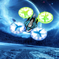 New JXD 399 RC Drone  2.4G 4CH 6 Axis UFO Remote Control Quadcopter 360 Flips Hecopter Mode Light Fantastic Radio-control Toys