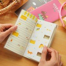 Южная Корея канцелярские товары креативные конфеты цвет супер английское слово книга милые студенты портативные блокноты