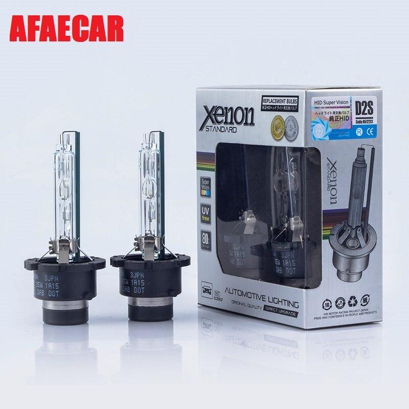 AFAECAR 12v 35W UV free tube D2S D4S XENON lamp car hid headlight