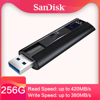 SanDisk Extreme PRO 128GB USB 3.1 usb key Solid State Flash Drive 256GB Pen Drive Pendrive Memory Usb Stick high speed 420mb/s