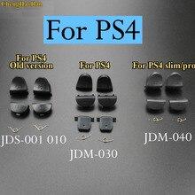 ChengHaoRan 2 sets/lot Nouveau JDS 030 JDM 030 JDM 040 L2 R2 L1 R1 Bouton de Déclenchement avec Ressorts Pour PS4 contrôleur JDS 040