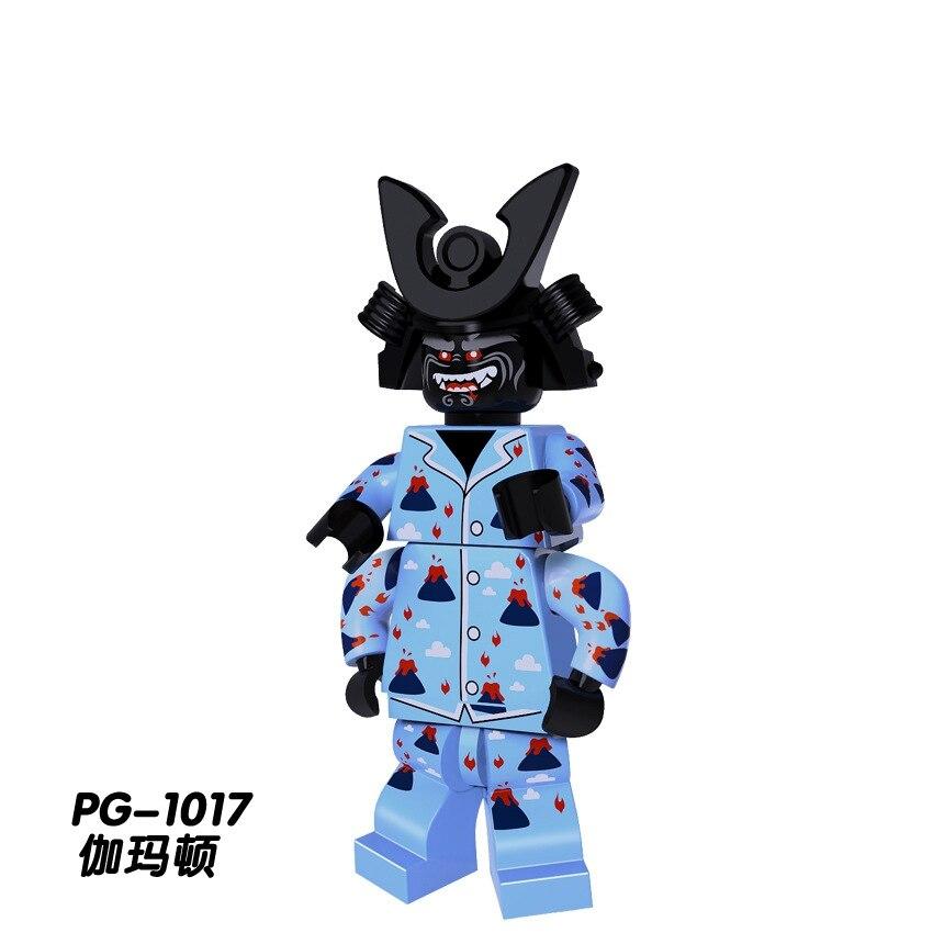 Single Sale Legoing Ninja Figures Blocks Toys Garmaoon Nya Jay Zane Kai Cole Harumi Samurai X Action Figure Ninja Legoings Model Building