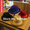 High Quality Winter Brand Wool Fedora Hats For Men Chapeu Masculino Panama Jazz Trilby Hats Free Shipping PWFR-034