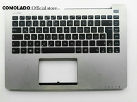 GR Germany Keyboard For Asus S400 S400C S400CA S400E Top Cover Palmrest keyboard