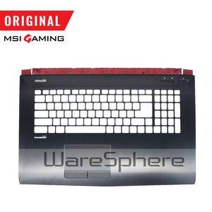Image 4 - جديد الأصلي ل MSI GE72 LCD الإطار الأمامي 307791B214/الغطاء الخلفي الغطاء الخلفي 307791A212Y31/غطاء سفلي 307791D2A6TA2 / Palmrest