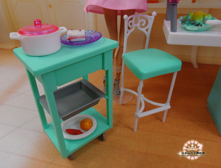 DIY Kitchen Set Re Ment Play Toy Sets For Barbie Doll Baby Toys Girl Birthday Gift Accessories House Furniture In Dolls From