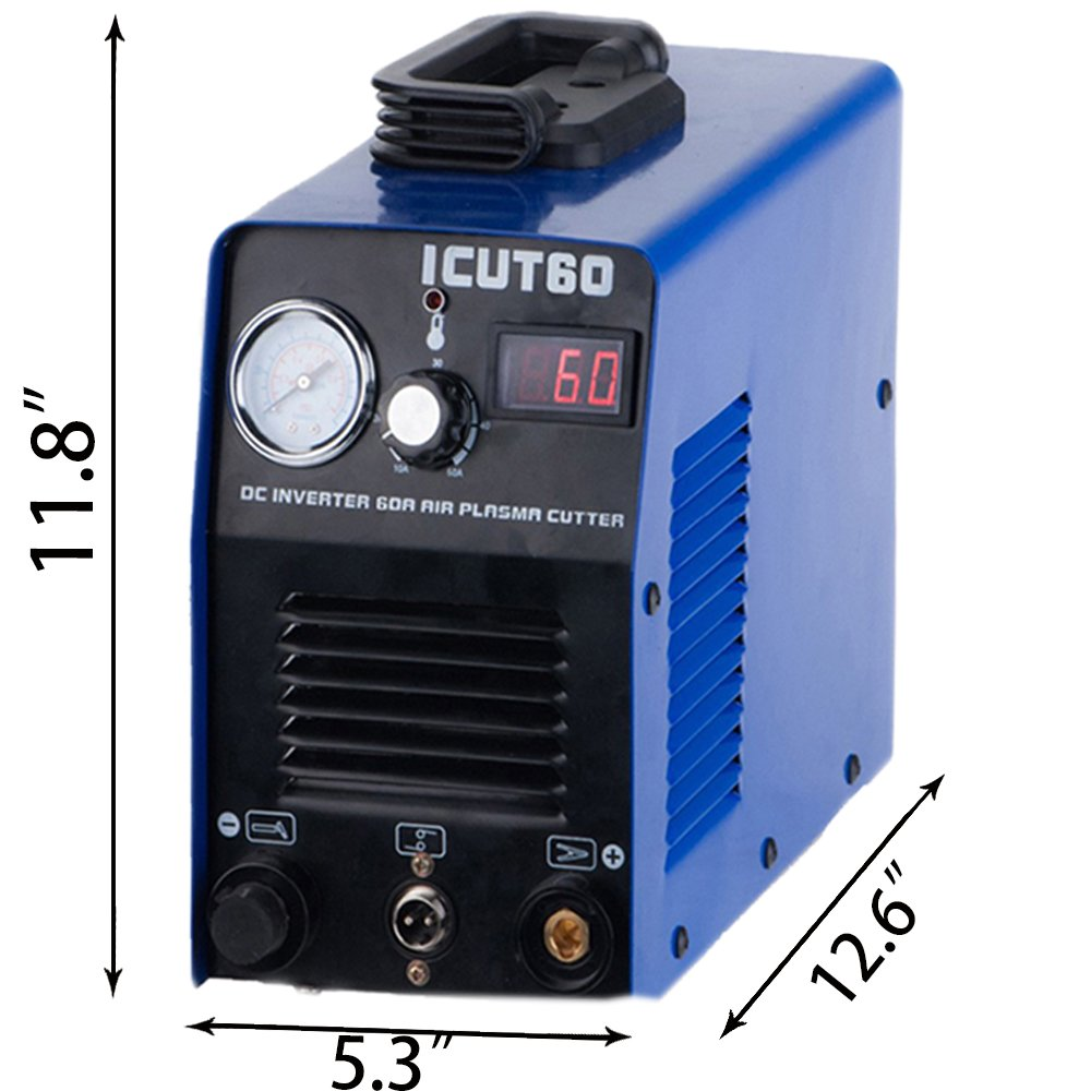 CUT60 IGBT AIR Plasma Cutter Machine AG60 Torch Cutting Clean Cut Portable in Plasma Welders from Tools