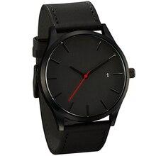 Мужские часы спортивные минималистичные часы для мужчин наручные часы кожаные часы Relojes erkek kol saati relogio masculino часы для мужчин