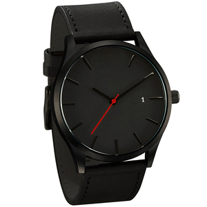 Men's Watch Sports Minimalistic Watches For Men Wrist Watches Leather Clock erkek kol saati relogio masculino reloj hombre 2020(China)