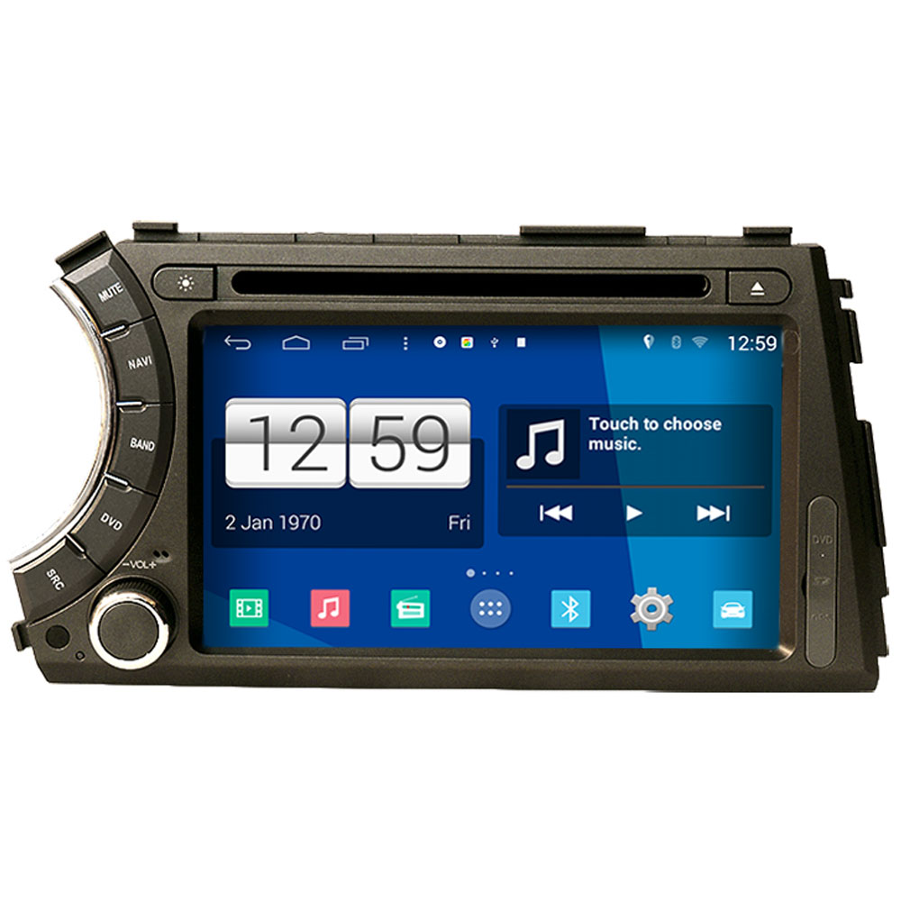 Winca S160 Android 4 4 System Car DVD GPS Head Unit Sat Nav for Ssangyong Actyon