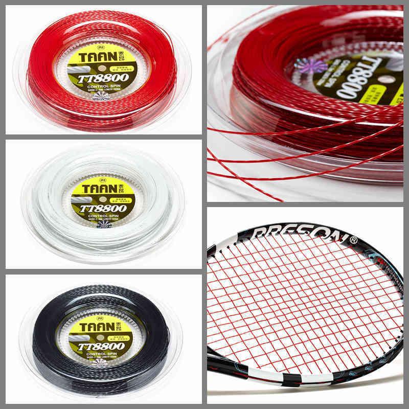 1 Катушка TAAN Power Spin Twist, теннисная ракетка, веревка TT8800, 1,20 мм, Полиэстеровая теннисная веревка, 200 м - 3