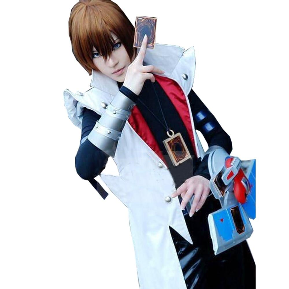 2017 аниме Yu-gi-Oh! Дуэль Монстры GX Сето Кайба Косплэй костюм для взрослых Для мужчин Хэллоуин Косплэй наряд индивидуальный заказ