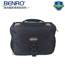 лучшая цена Benro Gamma 40 one shoulder professional camera bag slr camera bag rain cover