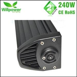 Image 4 - Kit de condução 4x4 combo com frete grátis, kit com 24000lms 42 polegadas, 240w, 4x4, luzes para carro luz de led da barra da luz 12v offroad