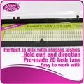 O Envio gratuito de 3 caixas de 2 flares Cílios De Seda linhas 3 V forma Natural falso Onda C 2D Eye lash make up tools