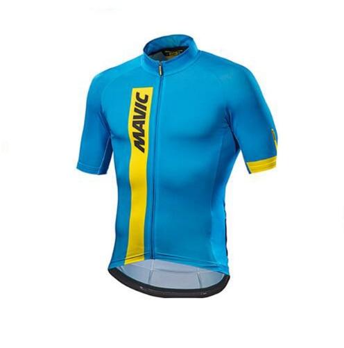 2017 Mavic Radfahren Jersey Radfahren Kleidung Racing Sport Bike Jersey Tops Radfahren Tragen Kurze Armel Maillot ropa Ciclismo