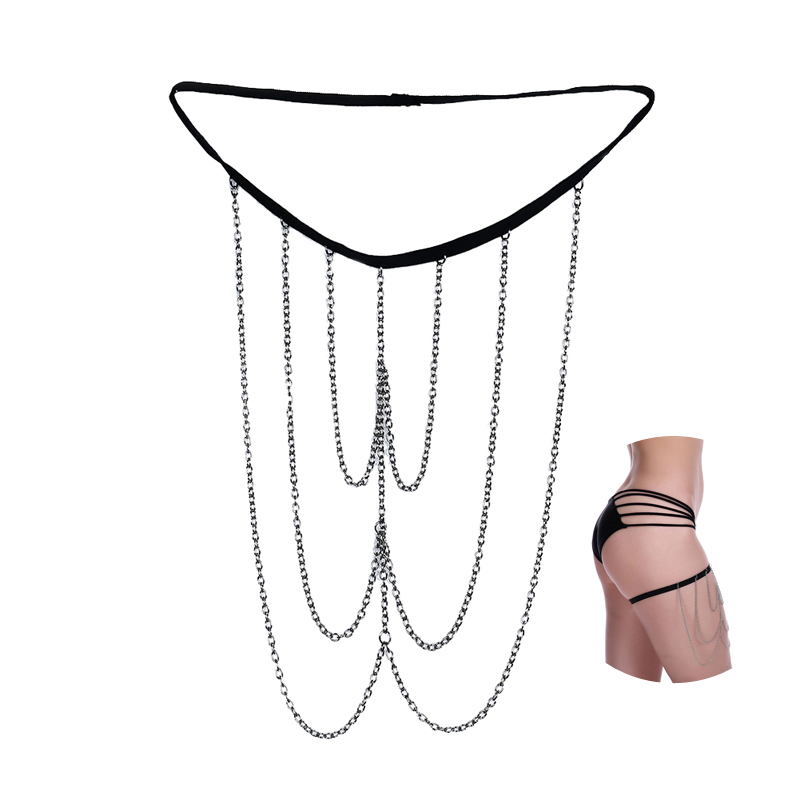 Vriendelijk Pixnor Mode Mutlilayer Sexy Been Chain Glittering Boho Dij Chains Mode-sieraden Accessoire Voor Vrouwen Body Decoratie Talrijke In Verscheidenheid