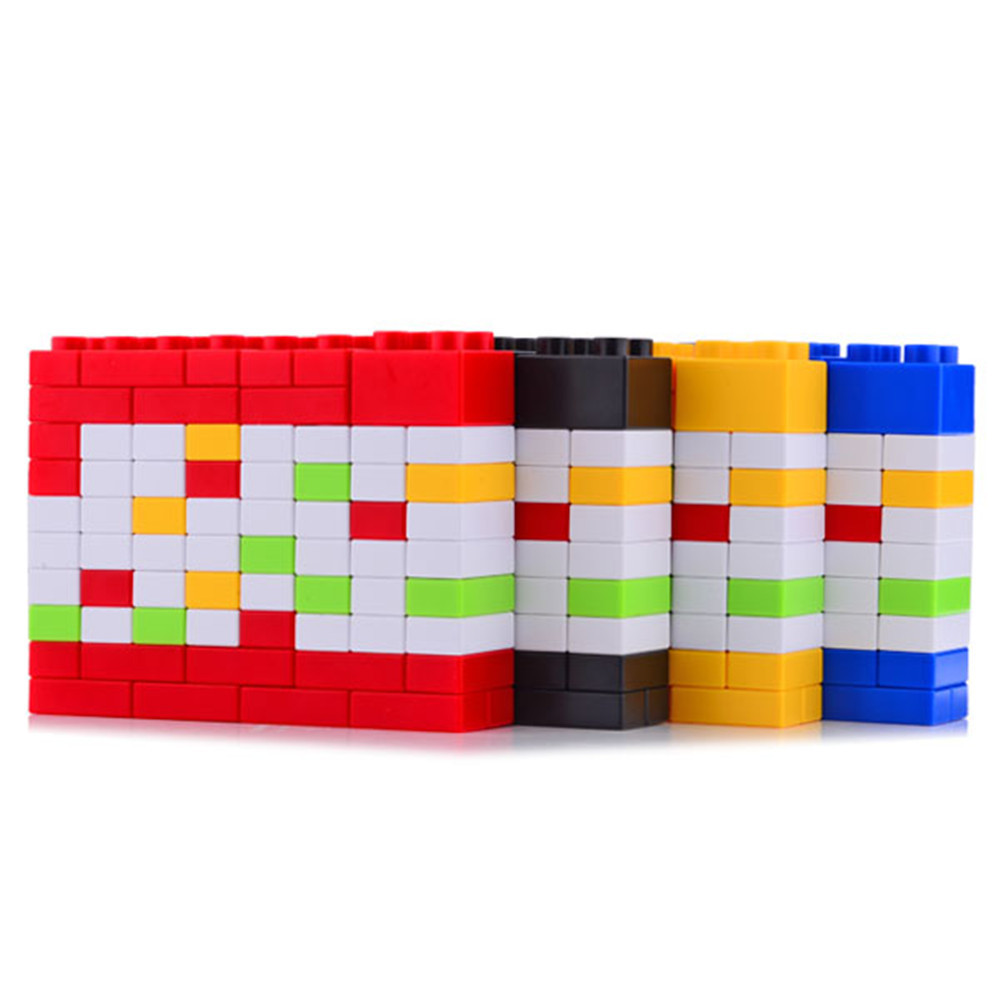 Novelty Bricks DIY Perpetual Puzzle Birthday Calendar 4 Colors For Creative Christmas/New Year/ Birthday Gift WJ-XXWJ103-