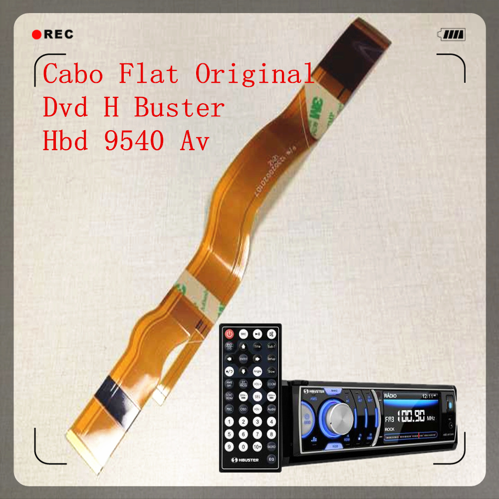 Cabo Flat Original Dvd H Buster Hbd Av 9540 without the wings
