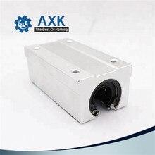 2 adet/grup ücretsiz kargo SBR16LUU 16mm lineer rulman blok CNC Router
