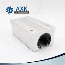 2 sztuk/partia darmowa wysyłka SBR16LUU 16mm liniowy blok łożyska kulkowe CNC Router