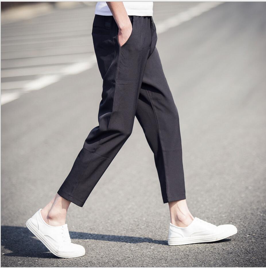 M-5XL Printemps et d été hommes de New casual pantalon Coréen Mince de mode harem  pantalon cheville pantalon de longueur plus la taille vêtements de4507e05a95