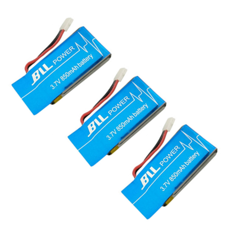 BLL 3PCS SYMA X5SC X5SC 1 X5SW X5SC 1 3 7V 850mah Upgrade font b Battery