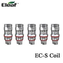 5 sztuk partia Eleaf EC-S 0 6ohm cewki głowy SS316L mesh dla MELO 5 Atomizer i Eleaf iStick obręczy zestaw z #8230 tanie tanio Eleaf EC-S Coil 0 6ohm Eleaf MELO 5 Atomizer and Eleaf iStick Rim Kit DS NC 0 60ohm 15-30W 5pcs pack