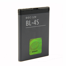 Original BL-4S phone battery for For Nokia 2680 slide 3600 slide 3710 fold 7020 7100 Supernova 7610 Supernova 860mAh аккумулятор для телефона craftmann bl 4ct для nokia 5310 xpressmusic 2720 fold 5310 5630 xpressmusic 6600 fold 6700 slide 7210 classic 7210 supernova 7230 7310 classic 7310 supernova x3 x3 00
