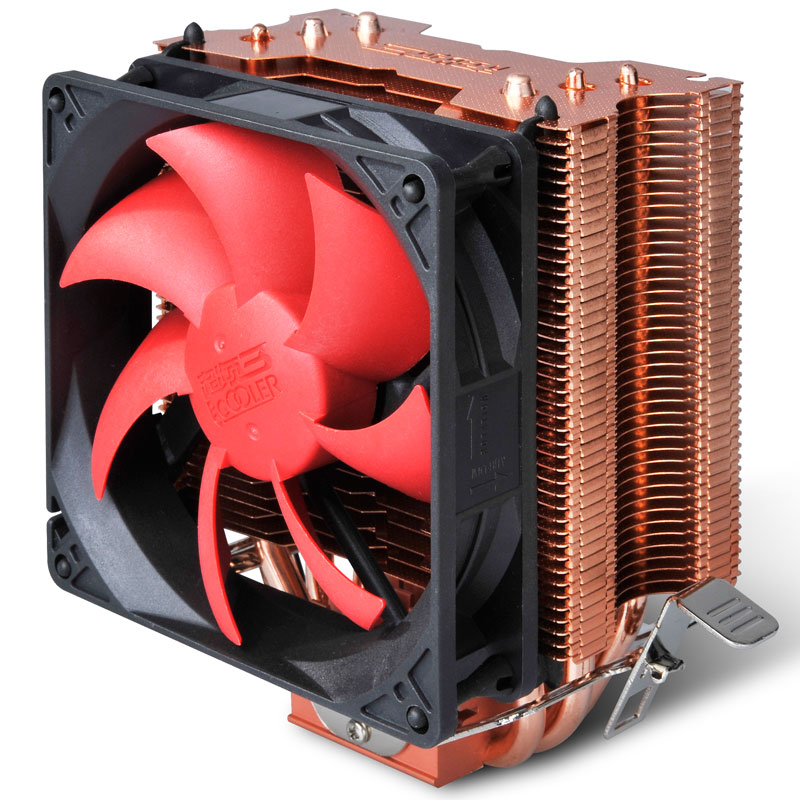 PC cooler 3 heatpipe CPU processor Cooler cooling for Intel LGA 1151 775 1150 1155 radiator for AMD CPU fan pccooler donghai x5 4 pin cooling fan blue led copper computer case cpu cooler fans for intel lga 115x 775 1151 for amd 754