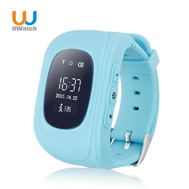 UWatch Children Smart watch Q50 Kid Safe SOS Call Location Finder Locator Tracker Anti-Lost Baby Son Wristwatch for iOS Android