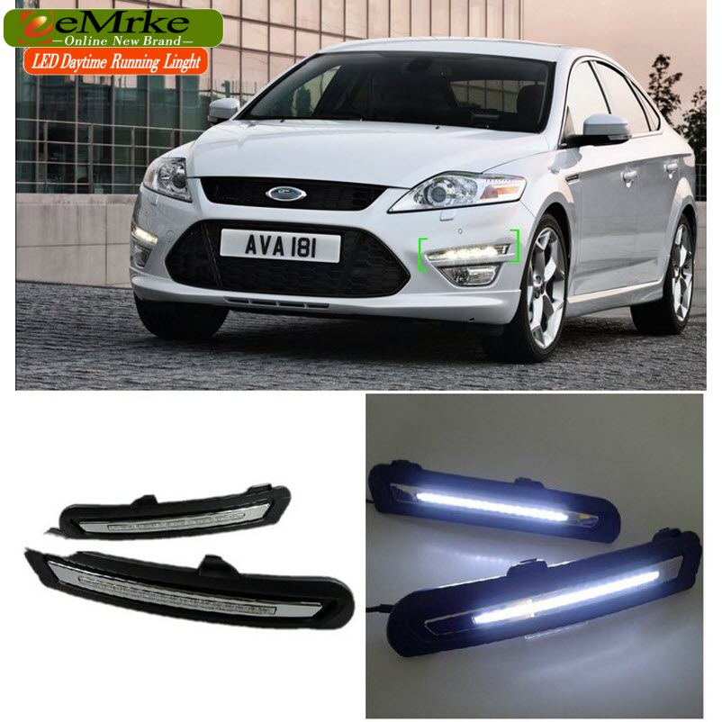 eeMrke Car LED DRL For Ford Mondeo 2011 2012 High Power Xenon White Fog Cover Daytime Running Lights Kits bernard s schweigert microwaves in the food processing industry