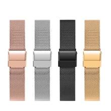 Milanese Loop Bracelet Band For Daniel Wellington Strap Stainless Steel Watch Strap Quick Release Watchband 12mm -18mm-20mm #C стоимость