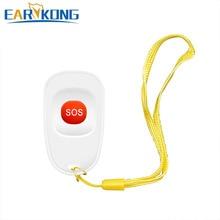 EARYKONG 433 МГц Беспроводная Аварийная кнопка для экстренной ситуации, кнопка, предназначенная для детей-подростков, совместимая с домашней охранной сигнализацией